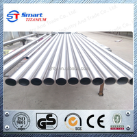 Purity titanium gr9 tube for industry