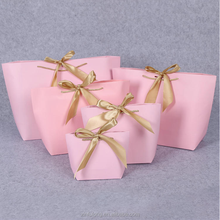 Package Design Cute Gift Printing Shopping Shoes Clothes Order Chindren's Cardboard Paper Bag