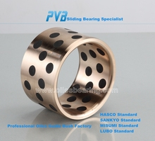 JDB-10 Bronze embedded Sliding Bearing,Oiles Sleeve Bearing,Brass Bushing Plain Bushing