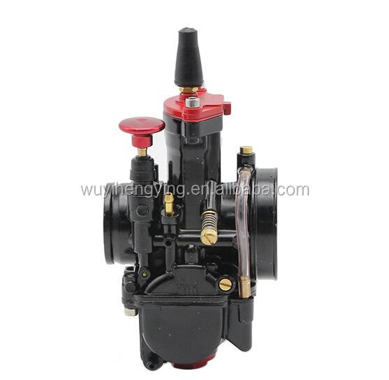 high performance PWK 34mm carburetor with Power jet Flat Slide for motorcycle Dirt Pit Bike motocross ATV