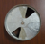 Round butterfly HVAC air duct damper