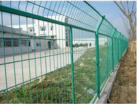 3D Curved Decorative Powder Coated Metal Welded Wire Mesh Fence Panel
