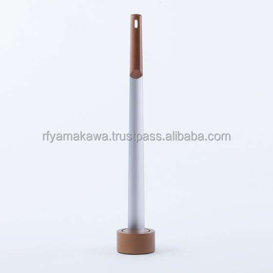 Kutsubella long metal and wood shoe horn