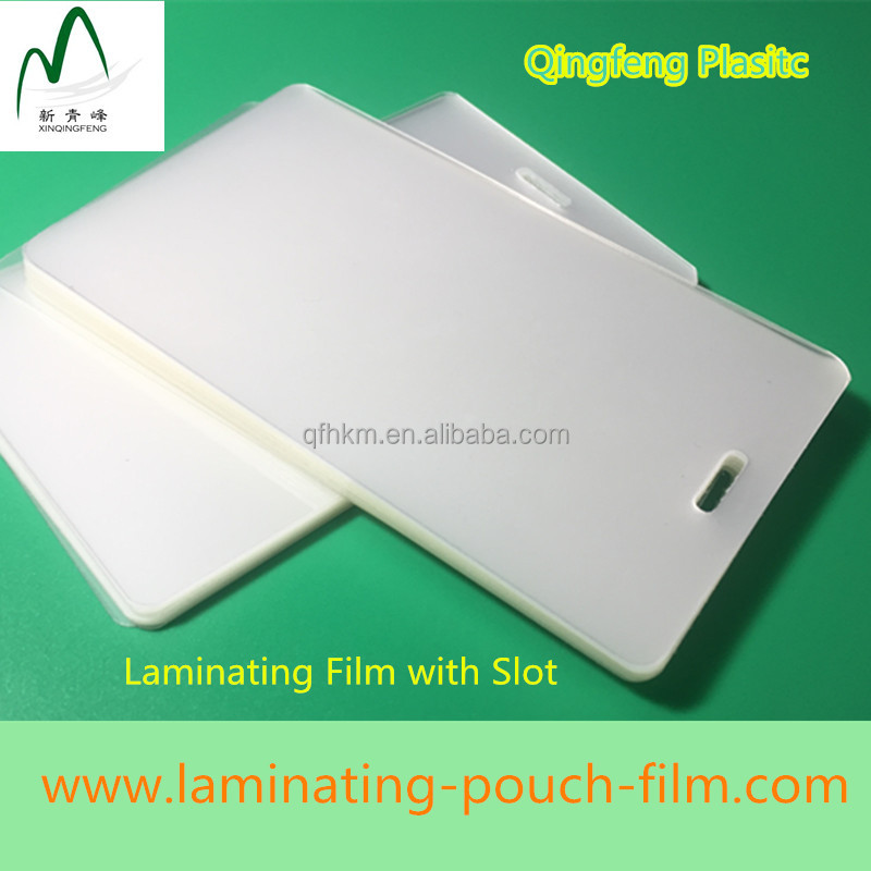 Low Price transparent holographic laminating pouch for laminator for sale
