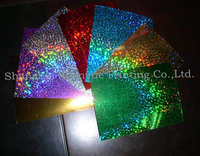 PET hologram sequins