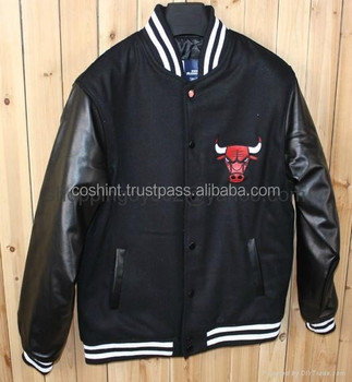 Wool And Leather High Quality Letterman Varsity Jacket/Baseball Varsity Jacket,Custom Varsity Jacket