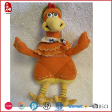 Plush material stuffed chicken soft toys tortoise