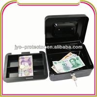 B125 metal cash case