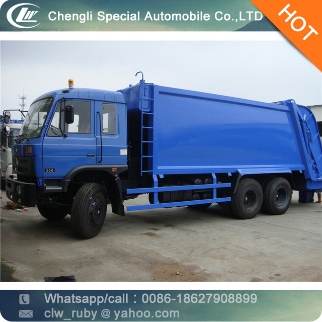 big Dongfeng 6*4 Compression Dustcart