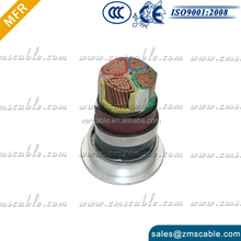 10MM diameter 2/3/4 cores 60227 IEC 300/500V 53 ( yz)-57(yzw )RVV CABLE