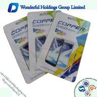 Customized plastic Anycall phone case packaging bags with ziplock