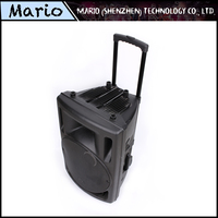 Music design sound box system promotional outdoor trolley speaker