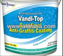 Rainguard VandlTop Sacrificial Anti-Graffiti Coating - Hot Water Graffiti Removal Without Chemcials