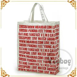wenzhou factory price custom printed cotton on tote bag