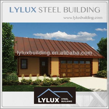 Green Small Cheap Prefabricated Homes Steel Prefab