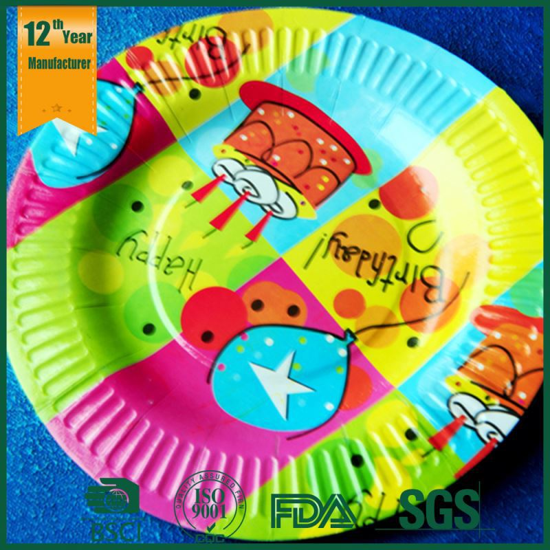 custom paper plates for party We specialize in large orders of customized party supplies for exceptional quality and pricing, shop custom party decorations & more on napkinscom.