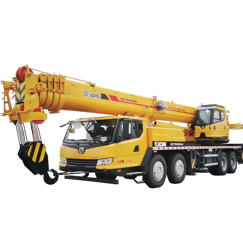 XCMG 50ton truck crane QY50KA for sale