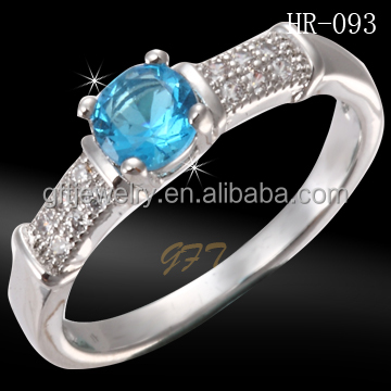 New products micro pave setting cz rings thailand