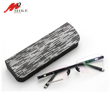 Vintage Handmade Durable Car Glasses Box Case Eyewear Accessories For Men Women