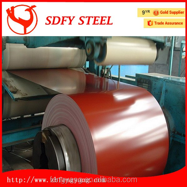 China supplier color coated roofing sheet bread machine