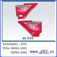 SCL-2013110007 Spare parts side cover for kawasaki motorcycle
