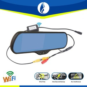 5 inch Android WIFI wireless DVR GPS 3G Rear view Mirror DVR rearview mirror car tv