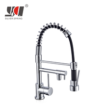 Perfect design double spout bow brass single handle drinking pre rinse pull out water ridge sink 3 way kitchen faucet