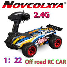 1:22 remote control car rc off road racing car 2.4g new rc toys For Kid