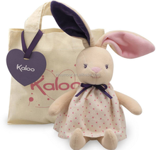 Kaloo PETITE ROSE RABBIT DOLL Plush Soft Toy Bunny With Bag Baby/Toddle BN