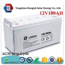 Good replacement of GEL and AGM,lifepo4 12v 24v 150ah 160ah 100ah rechargeable lifepo4 battery /LYGEAL12V100A196