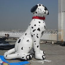 good price inflatable dalmatian dog balloon with best quality N2052