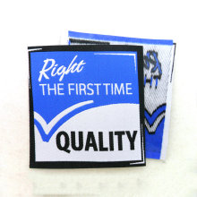 custom woven garment labels for clothing ,woven clothing labels
