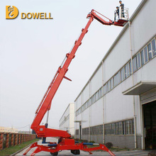 crawler human sky spider hydraulic lift for painting