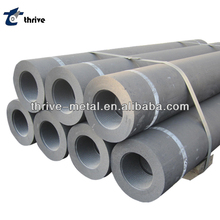 UHP graphite electrodes with nipples for arc furnace