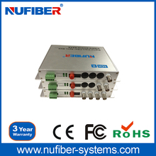 High quality Video Transceiver, Converter 1-16 channel Video, Audio, Data, Ethernet to Fiber Optic Converter