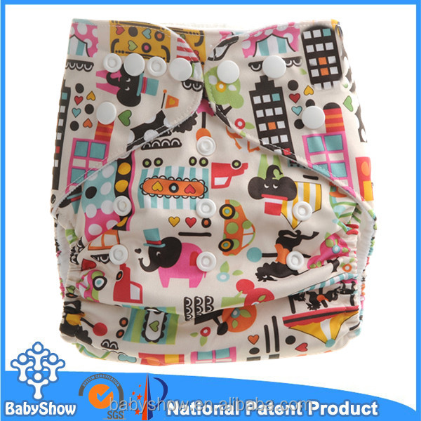 Babyshow reusable washable customized baby sleepy diaper bloomer&diaper cover