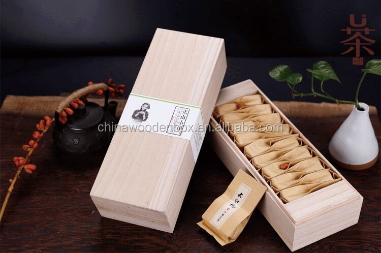 New design handmade tea packaging box
