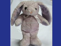 Long ear rabbit plush toys Pink color 8""