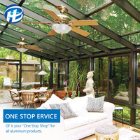 aluminum glass sunlight room minimalist outdoor glass room metal aluminium glass house