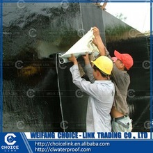 building material self adhesive bitumen waterproofing roll