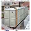 Dezhou manufacturer food grade fiberglass hot water storage tank