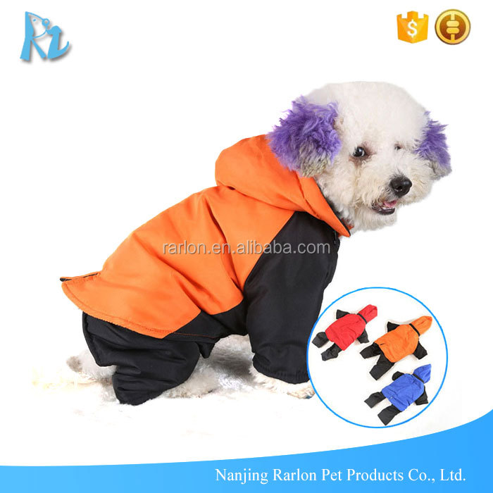 Hoodie Warm Apparel Dog Coat With Legs Winter Consumes Detachable