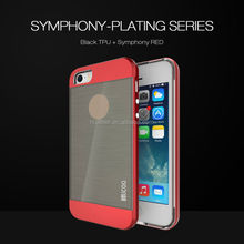 Wholesale For iPhone 5 case TPU+PC mobile phone case, free samples accept Paypal