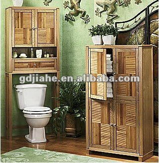 Bathroom Furniture Wood Space Saver Wood Bathroom Furniture Toilet Cabinet  Part 64