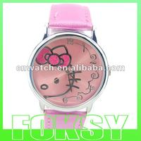 Lastest 2012 lady hello kitty watch