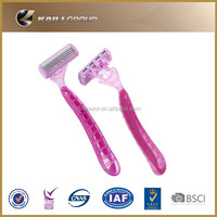 cheap price good quality stainless steel women razor Hot sale disposable razor blade for lady