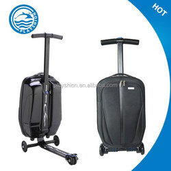Suitcase scooter/scooter luggage/luggage scooter carry on trolley luggage Travel scooter bag