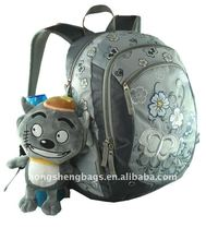 2011 Lovely school backpack with high quality