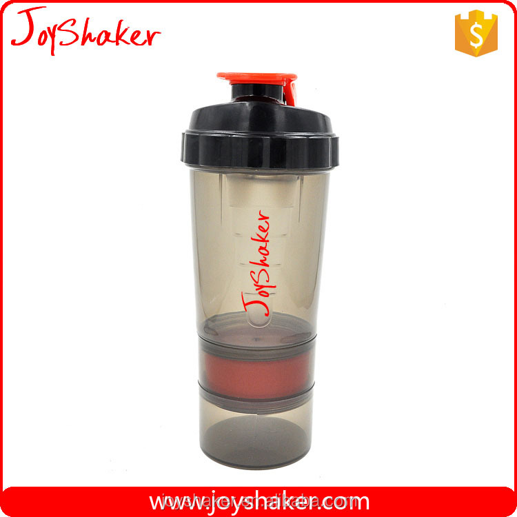 Stocked,Eco-Friendly Feature And LFGB,FDA,CIQ,CE / EU,SGS,EEC Certification Container Sport JoyShaker Protein Shaker Bottle 17oz