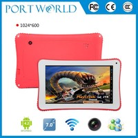 WIFI kids 7 inch tablet case Bluetooth 512MB 4GB android system